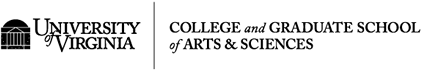 University of Virginia and College of Arts  & Sciences logos